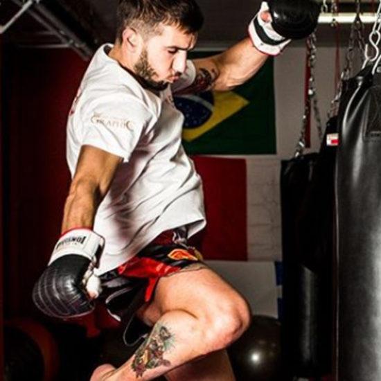 eros rollo istruttore kick boxing fight code rules k1 palestra alma sport lecce