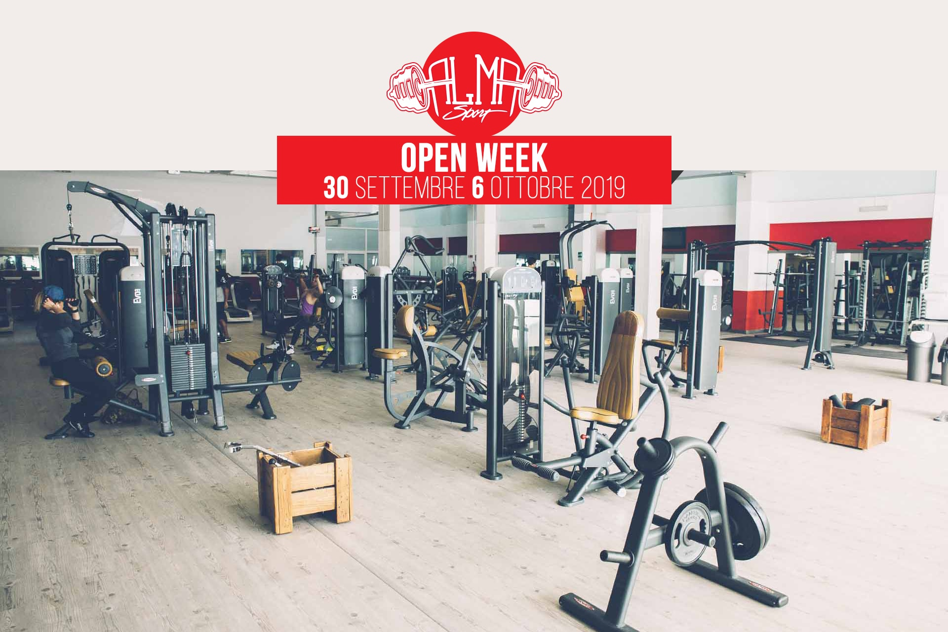 open week palestra lecce alma sport