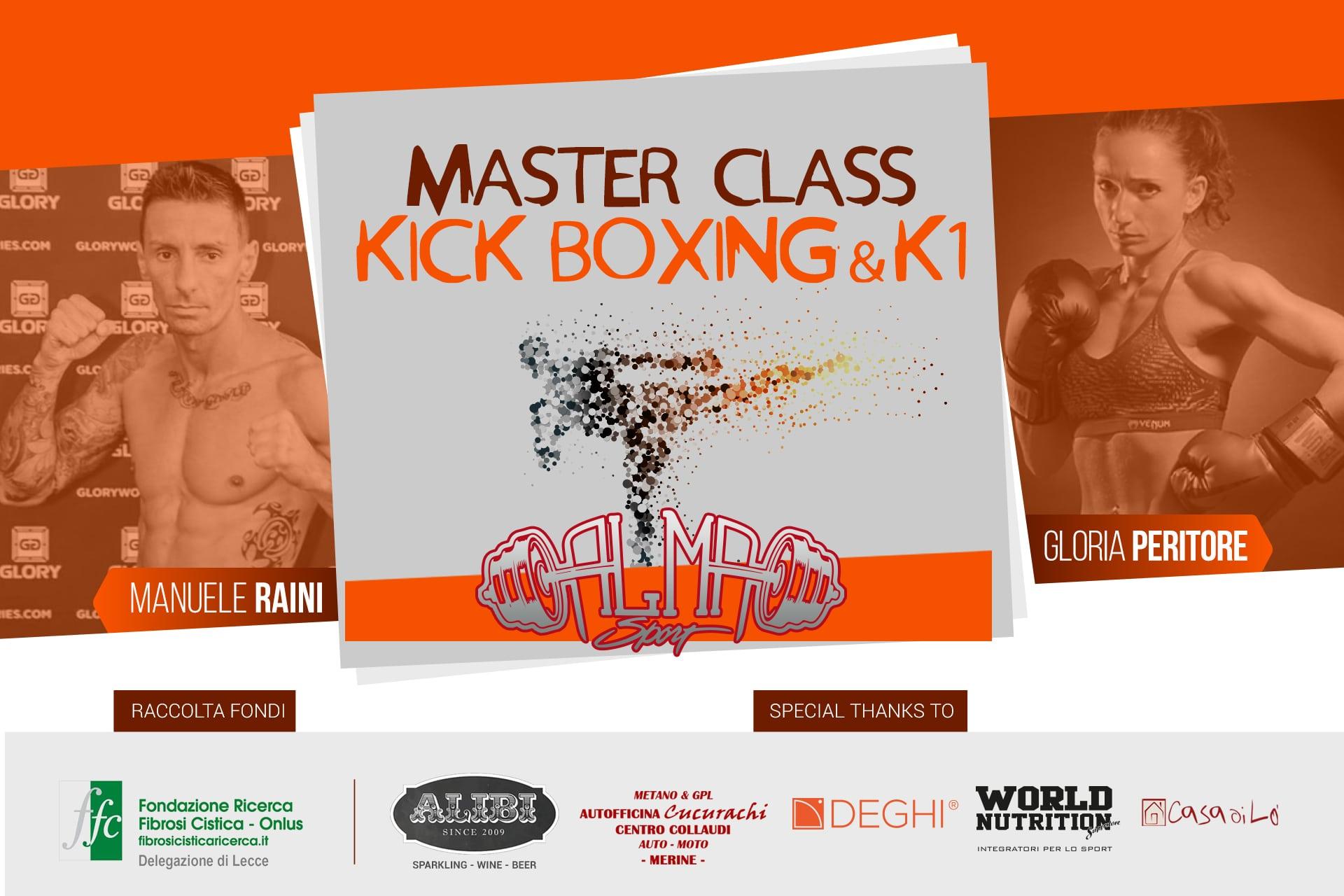 masterclass kick boxing raini clan lecce