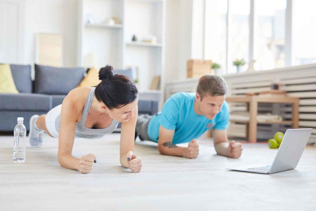 fitness di coppia esercizi