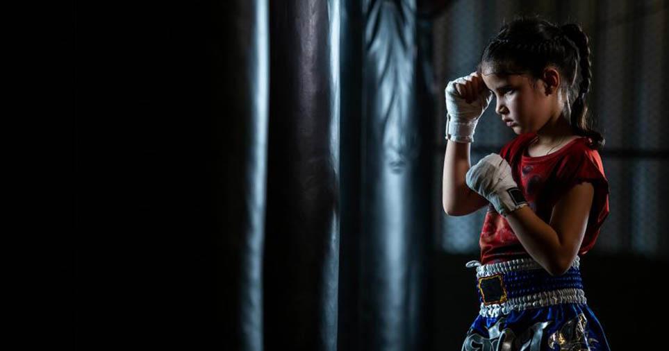 kick boxing per bambini